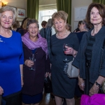 Pictured at the Limerick Civic Trust Ladies Lunch were Deirdre O'Driscoll, Castletroy, Win Roche, North Circular Road, Nora Wallace, Ashbrook Park, Gabrielle Wallace-O'Donnell, Castletroy. Picture: Cian Reinhardt/ilovelimerick