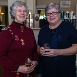 Pictured at the Limerick Civic Trust Ladies Lunch were Catherine Slater, Murroe and Máire O'Leary, St. Gabriels Centre. Picture: Cian Reinhardt/ilovelimerick