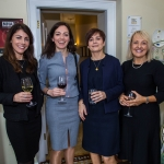 Pictured at the Limerick Civic Trust Ladies Lunch were Rachael O'Shaughnessy, Maria Gleeson, Jacci Fox and Mairéad Doyle of HOMS Solicitors. Picture: Cian Reinhardt/ilovelimerick