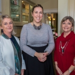 Pictured at the Limerick Civic Trust Ladies Lunch were Liz Horgan, Deirdre Twomey and Linda Keane of Bank of Ireland. Picture: Cian Reinhardt/ilovelimerick