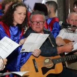 Limerick Gospel Choir and Corrigan Brothers Limerick Hurling Song. Picture: Zoe Conway/ilovelimerick 2018. All Rights Reserved.