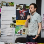 10/04/2019 James Lawlor from Narrative 4 during the Limerick Learning Neighbourhoods event at The Life Centre, Henry Street, Limerick. Picture by Diarmuid Greene