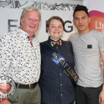 Pictured at the Limerick Pride 2018 press launch at the George Hotel were Jim Lawless, Clodagh O'Brien, Ms Gay Limerick 2018 and Beer Condron. Picture: Zoe Conway/ilovelimerick.