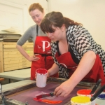 Print with Pride at Limerick Print Makers. Picture: Sophie Goodwin