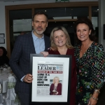 Pictured at the award ceremony for Limerick Person of the Year 2018 at the Clayton Hotel, Steamboat Quay, Limerick. Picture: Conor Owens/ilovelimerick.