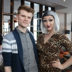 Pictured at the Limerick Pride 2019 Press Launch at the Clayton Hotel are Sean Lynch and Sarah Tonkin, Castletroy. Picture: Conor Owens/ilovelimerick