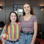 Pictured at the Limerick Pride 2019 Press Launch at the Clayton Hotel are Kiera Ryan and Claire O Dowd, Ballyclough. Picture: Conor Owens/ilovelimerick