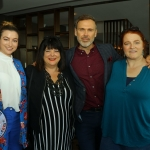 Pictured at the Limerick Pride 2019 Press Launch at the Clayton Hotel are Meghann Scully, Riverpoint, Valerie Dolan, Dock Road, Richard Lynch, I Love Limerick and Orla Clancy, Ballingarry. Picture: Conor Owens/ilovelimerick