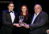 Paul O'Conner (Limerick's Got Talent Technical Director) Shannon Garvey (Limerick's Got Talent 2014 Winner) & Mike O'Conner (Limerick's Got Talent Producer)