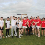 Pictured at the GAA grounds of Limerick Institute of Technology for the World Record for Most Nationalities to Take Part in a Hurling Match are students of Ardscoil Rís. Picture: Conor Owens/ilovelimerick.