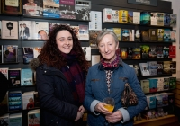 Amber Moloney, Killaloe and Ursula Furlong, Clancy Strand at the launch of the festival at O'Mahonys Bookstore.  A star-studded line up of participants has been confirmed for the 2015 Limerick Literary Festival, held annually in honour of Limerick-born novelist and playwright Kate O'Brien.   Taking place from February 20th to February 22nd, this year's festival features author visits, readings, lectures and panel discussions at 69 O'Connell St (formerly The Belltable) and The Lime Tree Theatre at Mary Immaculate College in Limerick City.   Festival organisers today unveiled a programme that features Edna O'Brien, novelist, memoirist, playwright, poet, short story writer and author of 'The Country Girls', as well as Man Booker Prize nominee Niall Williams, Poet, novelist, short-story writer and essayist Mary O'Donnell, poet John Montague, novelist Audrey Magee, and UL Frank McCourt Chair in Creative Writing Joseph O'Connor.   Images by Sean Curtin Photo.