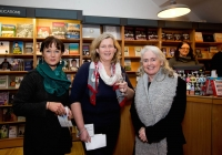Eileen O'Connor, Mary Coll and Sheila Deegan at the launch of the festival at O'Mahonys Bookstore.  A star-studded line up of participants has been confirmed for the 2015 Limerick Literary Festival, held annually in honour of Limerick-born novelist and playwright Kate O'Brien.   Taking place from February 20th to February 22nd, this year's festival features author visits, readings, lectures and panel discussions at 69 O'Connell St (formerly The Belltable) and The Lime Tree Theatre at Mary Immaculate College in Limerick City.   Festival organisers today unveiled a programme that features Edna O'Brien, novelist, memoirist, playwright, poet, short story writer and author of 'The Country Girls', as well as Man Booker Prize nominee Niall Williams, Poet, novelist, short-story writer and essayist Mary O'Donnell, poet John Montague, novelist Audrey Magee, and UL Frank McCourt Chair in Creative Writing Joseph O'Connor.   Images by Sean Curtin Photo.