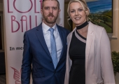 Pictured at Lola's Ball at the Greenhills Hotel in aid of ACT for Meningitis were Robert and Aoife Bourke. Picture: Cian Reinhardt/ilovelimerick