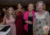 Pictured at Lola's Ball at the Greenhills Hotel in aid of ACT for Meningitis were Allison O'Mahony, Jane and Gwen Mounsey with Jackie Costello. Picture: Cian Reinhardt/ilovelimerick