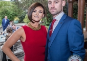 Pictured at Lola's Ball at the Greenhills Hotel in aid of ACT for Meningitis were Nicole Harris and Darragh Donelly. Picture: Cian Reinhardt/ilovelimerick