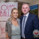Pictured at Lola's Ball at the Greenhills Hotel in aid of ACT for Meningitis were Rachel and Rob Browne. Picture: Cian Reinhardt/ilovelimerick