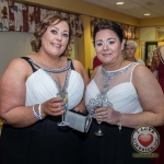 Pictured at Lola's Ball at the Greenhills Hotel in aid of ACT for Meningitis were Maria Ryan and Deirdre O'Driscoll. Picture: Cian Reinhardt/ilovelimerick