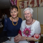 Pictured at Lola's Ball at the Greenhills Hotel in aid of ACT for Meningitis were Trish Melling and Anne Cronin. Picture: Cian Reinhardt/ilovelimerick