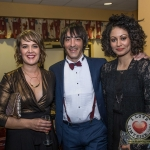 Pictured at Lola's Ball at the Greenhills Hotel in aid of ACT for Meningitis were Mary Finnan, Steve Melling and Jess Costa. Picture: Cian Reinhardt/ilovelimerick