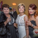 Pictured at Lola's Ball at the Greenhills Hotel in aid of ACT for Meningitis were Liz Kennedy, Gail Fahy and Elaine O'Doherty. Picture: Cian Reinhardt/ilovelimerick
