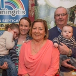 Keith Lancaster, Liz Lancaster, Liam O'Connell, Dara O'Connell and Lisa Lancaster, Caherdavin.