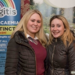 Hannah Laffan and Shannon Curtis from Loyal Hill Secondary School.