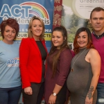 Dawn McGoldrick, Act For Meningitis, Daphne Greene, Greenhills Hotel, organisers Ruth and Leah Melling and MC for the event Richard Lynch, I Love Limerick. Picture: Jonathan Baynes/ilovelimerick