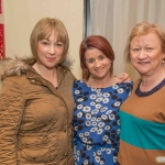 Sinead Reeves, Emma Collins and Margaret Collins.