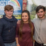 Eoin Hegarty, Leah Melling and Darragh Gibbons