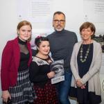 Kate Morgan, See Change, Jen Ronan, See Change Ambassador, Richard Lynch, I Love Limerick and NAomi O'Nolan, Hunt Museum. Picture: Cian Reinhardt/ilovelimerick