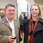 Launch of Limerick Printmakers' new exhibition at the Hunt Museum on their 20th Anniversary. Picture: Conor Owens/ilovelimerick.