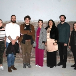 Pictured at the Tait Clothing Factory are 3rd year students from Limerick School of Art & Design for the launch of their art exhibition called 'We are the Proposers'. Picture: Conor Owens/ilovelimerick.