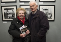 26-02-2015 Pictured at the opening of the Ludlow Collection are Rita Manning and Mick Manning, from South Circular Road, Limerick.  Limerick through the looking glass, the Ludlow Collection returns to Limerick for the first time in almost a century.  An extensive collection of unique photographs of Limerick has returned for the first time in almost 90 years for a new exhibition by Limerick Museum and Archives. The Ludlow Collection of family photographs is a compilation of images by amateur photographer John Riddell and is held by his descendents David and Steve Ludlow, both living in England. John Riddell came to Limerick from Glasgow, Scotland in 1880 to run Walker's Distillery on Brown's Quay, Thomondgate. When not managing the distillery, John could be found capturing a unique view of Limerick through a series of personal photographs. Now a selection of this wonderful collection will be available for public viewing in Limerick Museum and the Glazed Street, Civic Buildings, Merchant's Quay in an exhibition which opened on Thursday, 26th February.  Picture credit: Diarmuid Greene/Fusionshooters