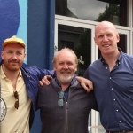 Rugby legend Paul O'Connell & Renowned Irish Street Artist Maser celebrate Team Limerick Clean-Up (TLC4) 2018. Picture: Ciara Maria Hayes/ilovelimerick 2018. All Rights