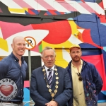 Rugby legend Paul O'Connell & Renowned Irish Street Artist Maser celebrate Team Limerick Clean-Up (TLC4) 2018. Picture: Sophie Goodwin/ilovelimerick 2018. All Rights