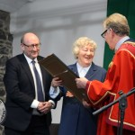 A Civic Reception for Sr. Phyllis Donnellan and Celia Holman Lee was held at City Hall on Friday, February 28, 2020. Picture: beth Pym/ilovelimerick.