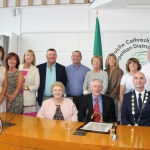 The Mayoral Reception that took place in the Limerick Council Chamber in honour of Phil McCarthy, Patrick Halpin and Patrick O'Brien, Thursday, July 26, 2018.