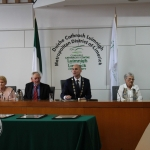 Theresa and Patrick O'Brien, Limerick GAA, Limerick Metropolitan Mayor Daniel Butler, Phil McCarthy, Limerick Community Games and Patrick Halpin, Limerick Football at the Mayoral Reception that took place in the Limerick Council Chamber in honour of Phil McCarthy, Patrick Halpin and Patrick O'Brien, Thursday, July 26, 2018.