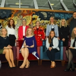 REPRO FREE - Pictured at the launch of the MidWest Empowerment and Equality Conference 2019 which is taking place at the University Concert Hall on Wednesday May 1st are style queen Celia Holman Lee, hockey player Sinead Loughran, Sr Helen Culhane, founder of Children's Grief Centre, Anne Cronin, Head of NOVAS Homeless Services, Dr Deirdre Fanning, Consultant Urologist in Bon Secours Hospital, fitness expert Leane Moore, Richard Lynch, founder of ilovelimerick.com, (back row) with Margaret O'Connor, Managing Director of Quigleys, Dr Mary Ryan, Consultant Endocrinologist in Bon Secours Hospital, Tracey Lynch, CEO of Tait House and nutritional therapist Olivia Beck. The conference will address social issues affecting both men and women. For tickets and info visit www.UCH.ie. Picture: Conor Owens/ilovelimerick.