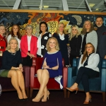REPRO FREE - Pictured at the launch of the MidWest Empowerment and Equality Conference 2019 which is taking place at the University Concert Hall on Wednesday May 1st are style queen Celia Holman Lee, hockey player Sinead Loughran, Sr Helen Culhane, founder of Children's Grief Centre, Anne Cronin, Head of NOVAS Homeless Services, Dr Deirdre Fanning, Consultant Urologist in Bon Secours Hospital, fitness expert Leane Moore, nutritional therapist Olivia Beck, Richard Lynch, founder of ilovelimerick.com, (back row) with Margaret O'Connor, Managing Director of Quigleys, Dr Mary Ryan, Consultant Endocrinologist in Bon Secours Hospital, and Tracey Lynch, CEO of Tait House. The conference will address social issues affecting both men and women. For tickets and info visit www.UCH.ie. Picture: Conor Owens/ilovelimerick.