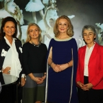 REPRO FREE - Pictured at the launch of the MidWest Empowerment and Equality Conference 2019 which is taking place at the University Concert Hall on Wednesday May 1st are style queen Celia Holman Lee, Margaret O'Connor, Managing Director of Quigleys, Dr Mary Ryan, Consultant Endocrinologist in Bon Secours Hospital and Sr Helen Culhane, founder of Children's Grief Centre. The conference will address social issues affecting both men and women. For tickets and info visit www.UCH.ie. Picture: Conor Owens/ilovelimerick.