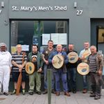 Pictured at the St. Mary's Men's Shed on Nicholas St. Picture: Conor Owens/ilovelimerick.
