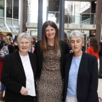 Picturerd at the Midwest Empowerment and Equality Conference 2019 in the University Concert Hall are Steeplejill Angela Collins O'Mahony, Caragh O'Shea,Events and Marketing Manager at Metis Ireland, and Sr Helen Culhane, founder of the Childrens Grief Centre. Picture: Conor Owens/ilovelimerick.