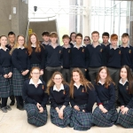 Students from John the Baptist, Hospital, at the Midwest Empowerment and Equality Conference 2019 in University Concert Hall, Limerick on May 1st. Picture: Zoe Conway