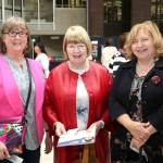Patricia Ford, Neenagh with Patricia Moxonbrowne and Mary Oakley from Killaloe at the Midwest Empowerment and Equality Conference 2019 in University Concert Hall, Limerick on May 1st. Picture: Zoe Conway
