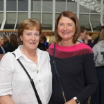 Judy Gleeson and Josephine Keller from Neenagh at the Midwest Empowerment and Equality Conference 2019 in University Concert Hall, Limerick on May 1st. Picture: Zoe Conway