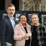 Richard Lynch, I Love Limerick with Marie Collins, University of Limerick and Elaine Ryan, Clayton Hotel, at the Midwest Empowerment and Equality Conference 2019 in University Concert Hall, Limerick on May 1st. Picture: Zoe Conway