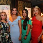 Pictured at the Launch of the 2019 Miss Limerick and Miss Clare competitions in 101 Limerick are contestants Louisa Dempsey, Emma Austin, Clodagh Cahill and Rebecca Enright. Picture: Conor Owens/ilovelimerick.