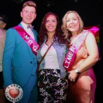 Pictured at Cobblestone Joes on Little Ellen St for the 2019 Mr and Ms Gay Limerick competition are Mr Gay Limerick winner Lorcan McAuliffe, Athea, Lisa Daly, Chairperson of Limerick Pride, and Ms Gay Limerick winner Amanda Boland, Janesboro. Picture: Conor Owens/ilovelimerick.