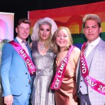 Pictured at Cobblestone Joes on Little Ellen St for the 2019 Mr and Ms Gay Limerick competition are Mr Gay Limerick winner Lorcan McAuliffe, Athea,  Carrie Deway, MC of event, Ms Gay Limerick winner Amanda Boland, Janesboro and crowd favourite winner Beer Burankum Condron. Picture: Conor Owens/ilovelimerick.